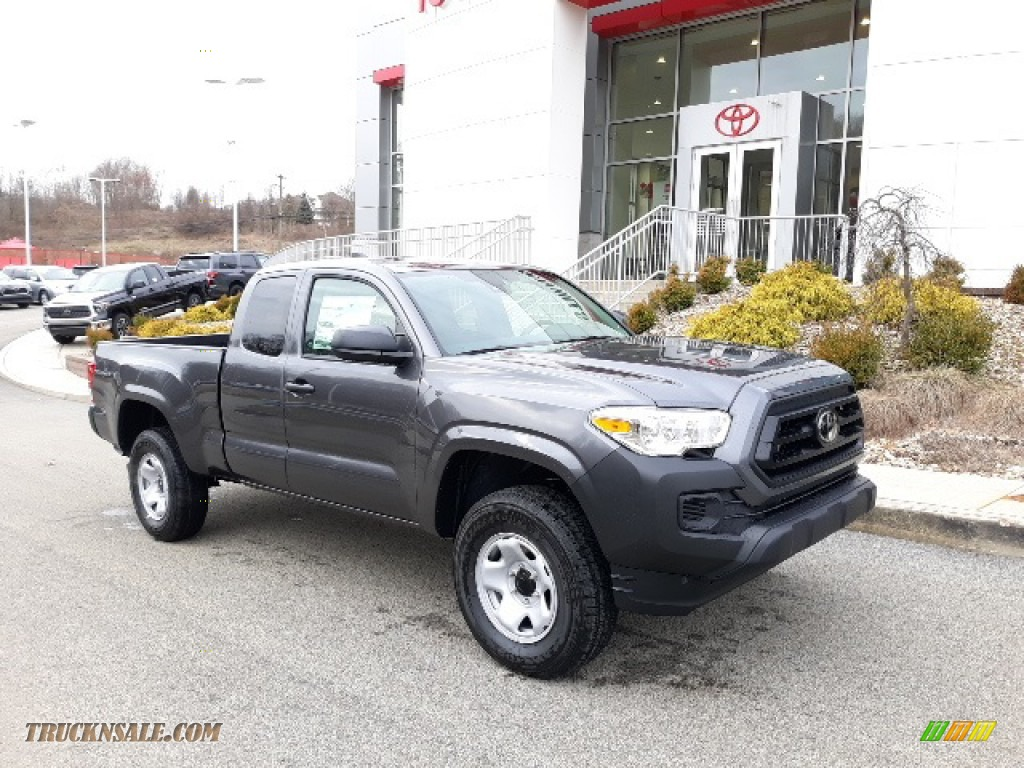2020 Tacoma SR Access Cab 4x4 - Magnetic Gray Metallic / Cement photo #1