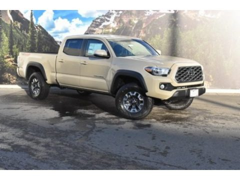 Quicksand 2020 Toyota Tacoma TRD Off Road Double Cab 4x4