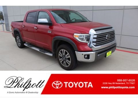 Barcelona Red Metallic 2020 Toyota Tundra 1794 Edition CrewMax 4x4