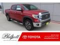 Toyota Tundra 1794 Edition CrewMax 4x4 Barcelona Red Metallic photo #1