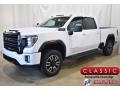 GMC Sierra 2500HD AT4 Crew Cab 4WD Summit White photo #1