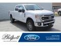 Ford F250 Super Duty Lariat Crew Cab 4x4 Oxford White photo #1