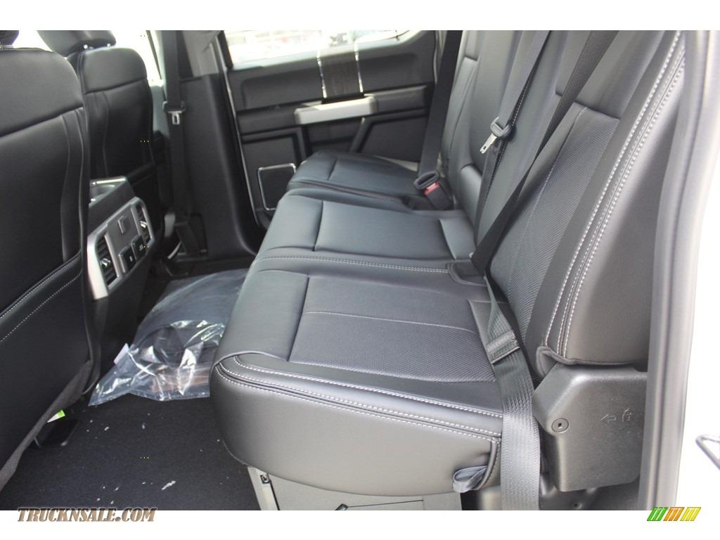 2020 F250 Super Duty Lariat Crew Cab 4x4 - Oxford White / Black photo #20