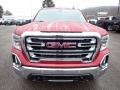 GMC Sierra 1500 SLT Crew Cab 4WD Red Quartz Tintcoat photo #2