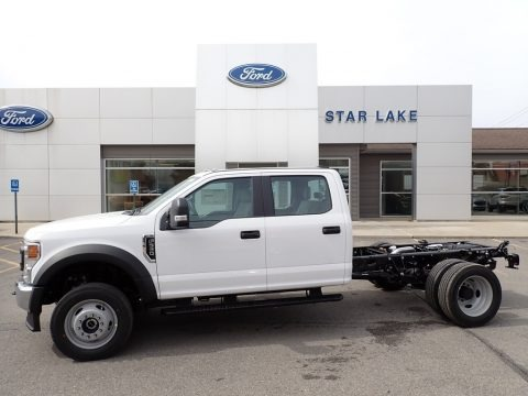Oxford White 2020 Ford F550 Super Duty XL Crew Cab 4x4 Chassis