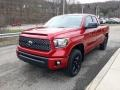Toyota Tundra SX Double Cab 4x4 Barcelona Red Metallic photo #25