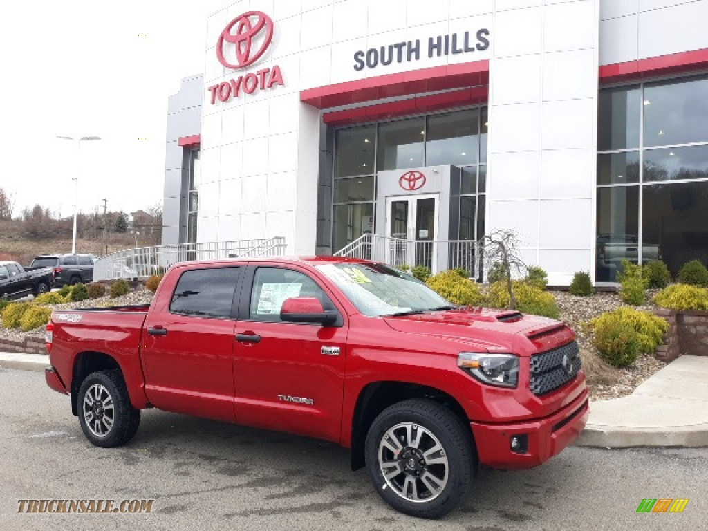 2020 Tundra TRD Sport CrewMax 4x4 - Barcelona Red Metallic / Graphite photo #1