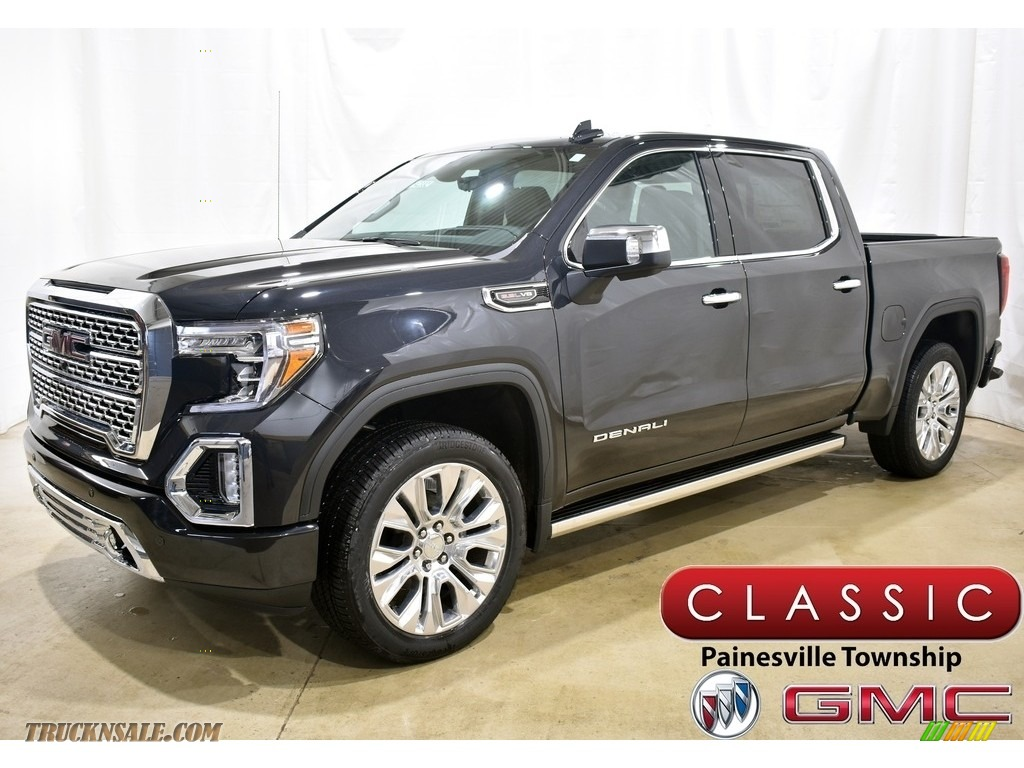 2020 Sierra 1500 Denali Crew Cab 4WD - Carbon Black Metallic / Jet Black photo #1