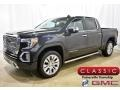 GMC Sierra 1500 Denali Crew Cab 4WD Carbon Black Metallic photo #1