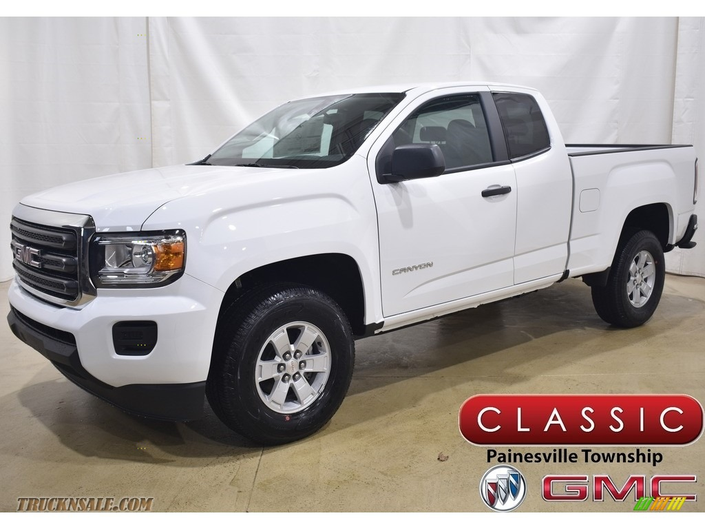 2020 Canyon Extended Cab 4WD - Summit White / Jet Black/Dark Ash photo #1