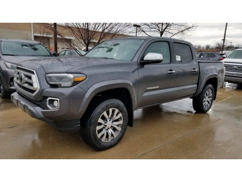 Magnetic Gray Metallic 2020 Toyota Tacoma Limited Double Cab 4x4