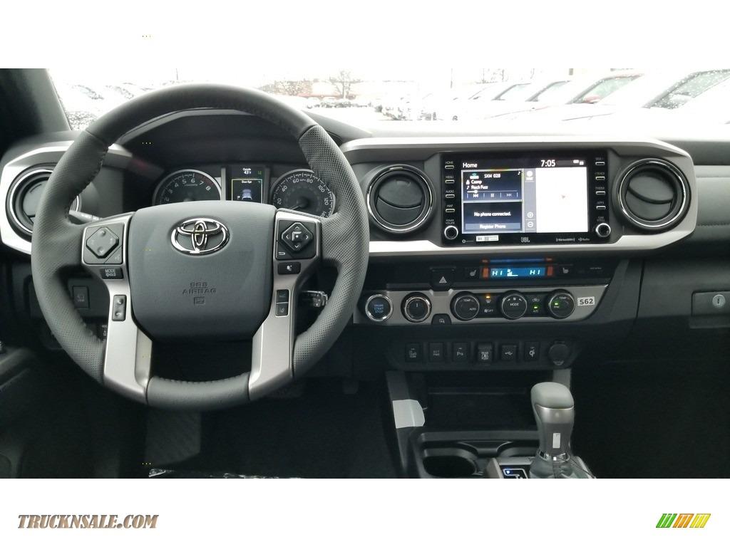 2020 Tacoma Limited Double Cab 4x4 - Magnetic Gray Metallic / Black photo #3
