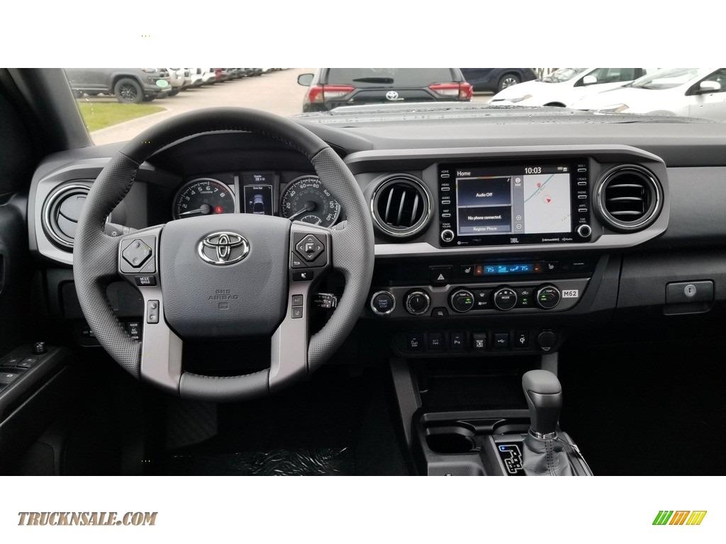 2020 Tacoma TRD Sport Double Cab 4x4 - Midnight Black Metallic / Black photo #3
