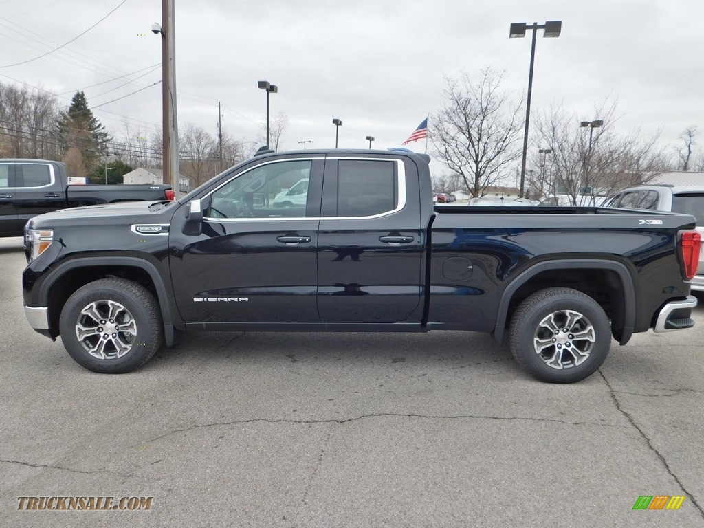 2020 Sierra 1500 SLE Double Cab 4WD - Onyx Black / Jet Black photo #6
