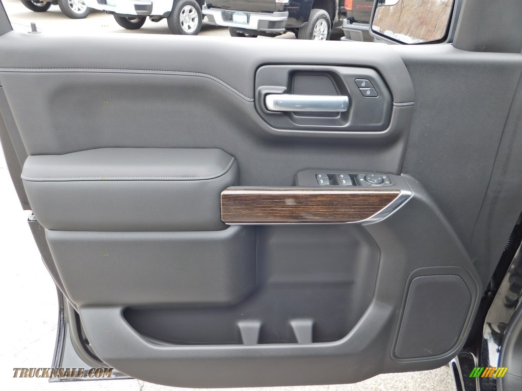2020 Sierra 1500 SLE Double Cab 4WD - Onyx Black / Jet Black photo #11