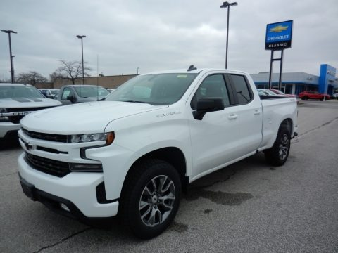 Summit White 2020 Chevrolet Silverado 1500 RST Double Cab 4x4