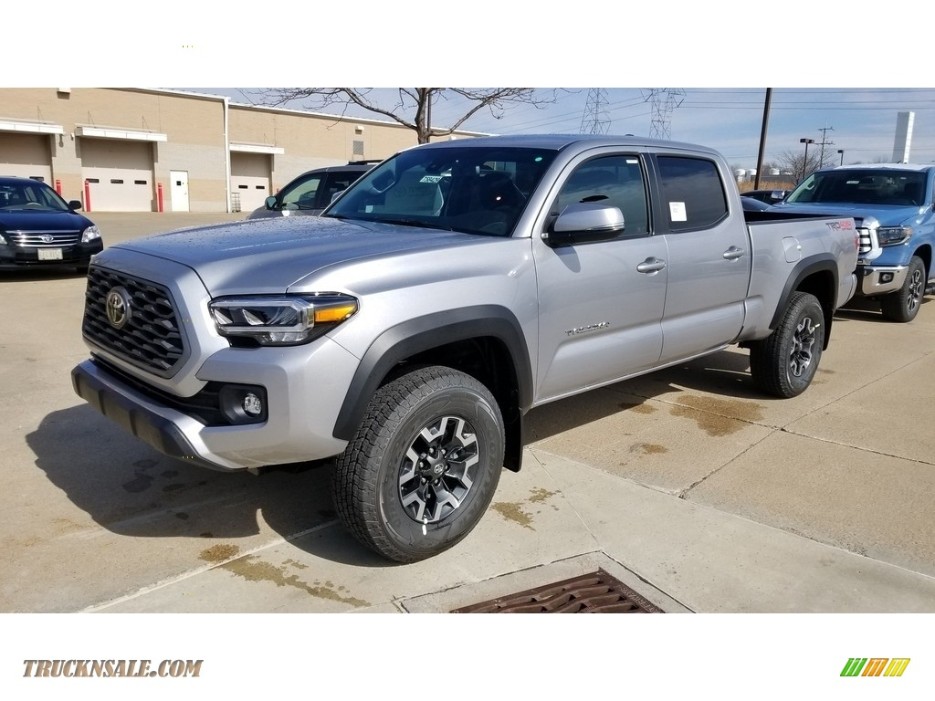 2020 Tacoma TRD Off Road Double Cab 4x4 - Silver Sky Metallic / TRD Cement/Black photo #1