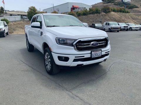 White Platinum Tri-Coat 2019 Ford Ranger Lariat SuperCrew 4x4