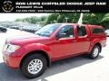 Nissan Frontier SV Crew Cab 4x4 Cayenne Red photo #1