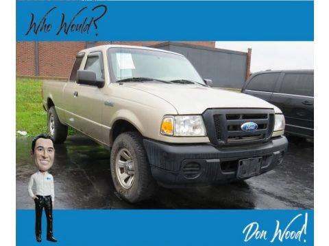 Pueblo Gold Metallic 2008 Ford Ranger XL SuperCab 4x4