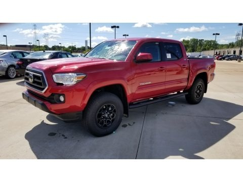 Barcelona Red Metallic 2020 Toyota Tacoma SR5 Double Cab 4x4