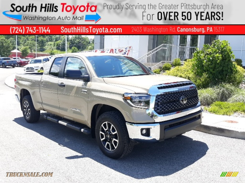2020 Tundra TRD Off Road Double Cab 4x4 - Quicksand / Black photo #1