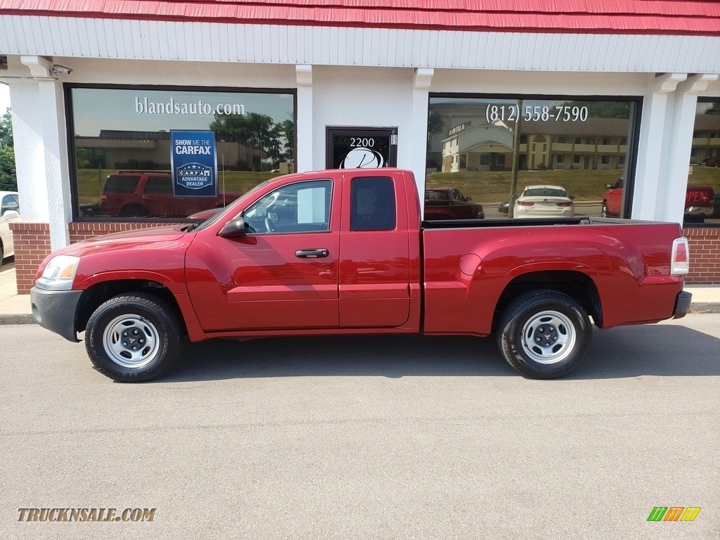 2007 Raider LS Extended Cab - Lava Red / Slate photo #1