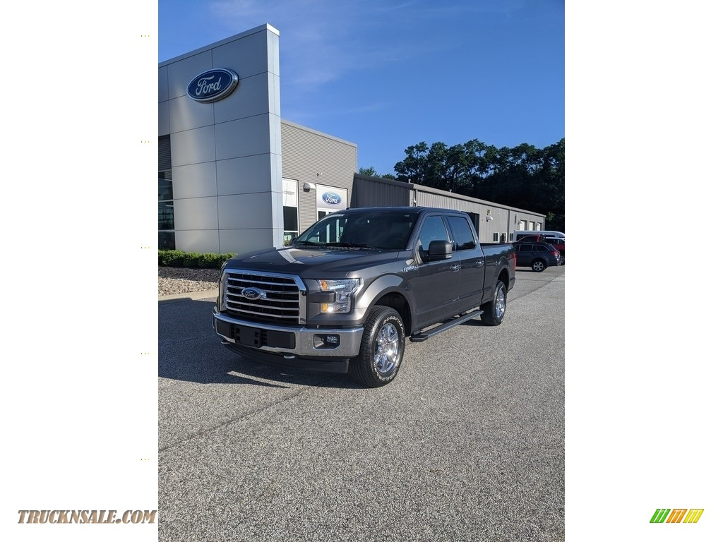 2017 F150 XLT SuperCrew 4x4 - Magnetic / Earth Gray photo #1
