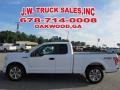 Ford F150 XL SuperCab Oxford White photo #2