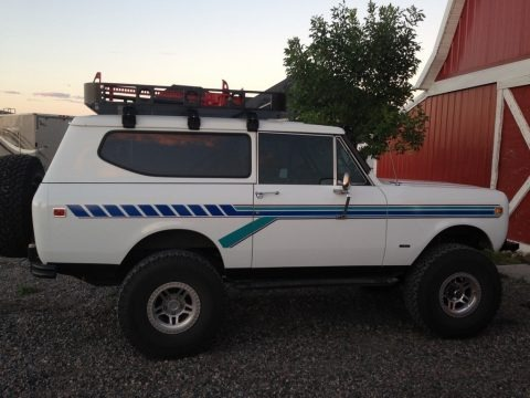 White 1980 International Scout II 4x4