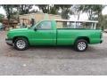Chevrolet Silverado 1500 Work Truck Regular Cab Dark Green Metallic photo #4