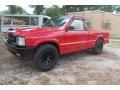 Mazda B-Series Truck B2200 Regular Cab Blaze Red photo #3