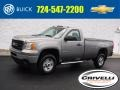 GMC Sierra 2500HD Regular Cab 4x4 Steel Gray Metallic photo #1