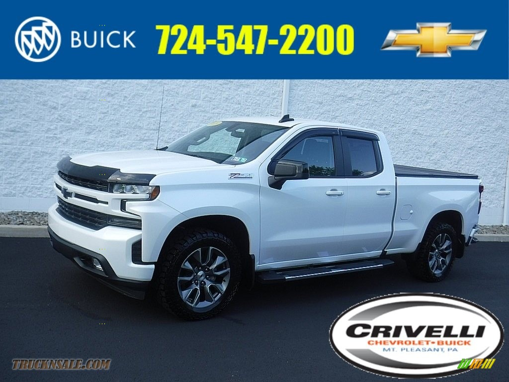 2019 Silverado 1500 RST Double Cab 4WD - Summit White / Jet Black photo #1