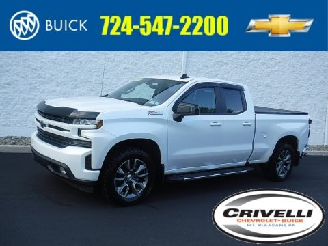 Summit White 2019 Chevrolet Silverado 1500 RST Double Cab 4WD