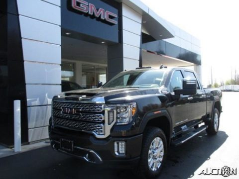 Carbon Black Metallic 2020 GMC Sierra 2500HD Denali Crew Cab 4WD