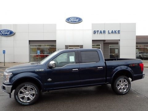 Blue Jeans 2020 Ford F150 King Ranch SuperCrew 4x4
