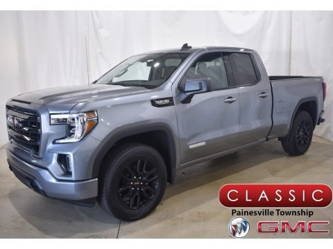 Satin Steel Metallic 2020 GMC Sierra 1500 Elevation Double Cab 4WD