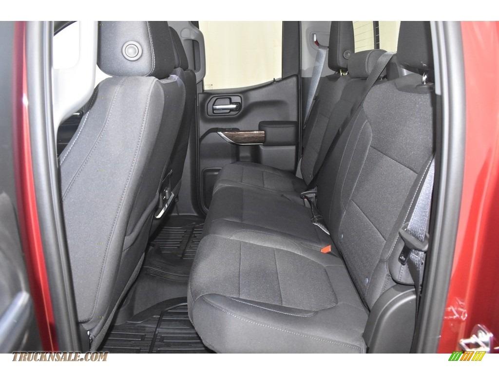 2020 Sierra 1500 Elevation Double Cab 4WD - Red Quartz Tintcoat / Jet Black photo #7