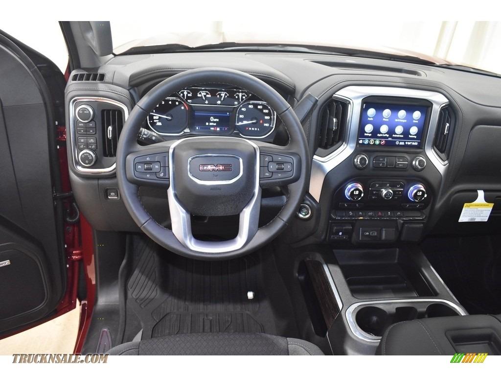 2020 Sierra 1500 Elevation Double Cab 4WD - Red Quartz Tintcoat / Jet Black photo #8