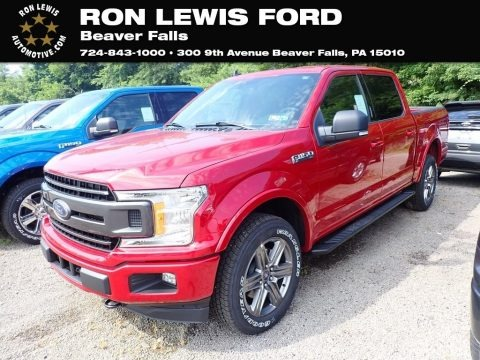Rapid Red 2020 Ford F150 XLT SuperCrew 4x4