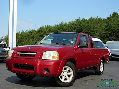 Red Brawn Metallic 2004 Nissan Frontier XE King Cab