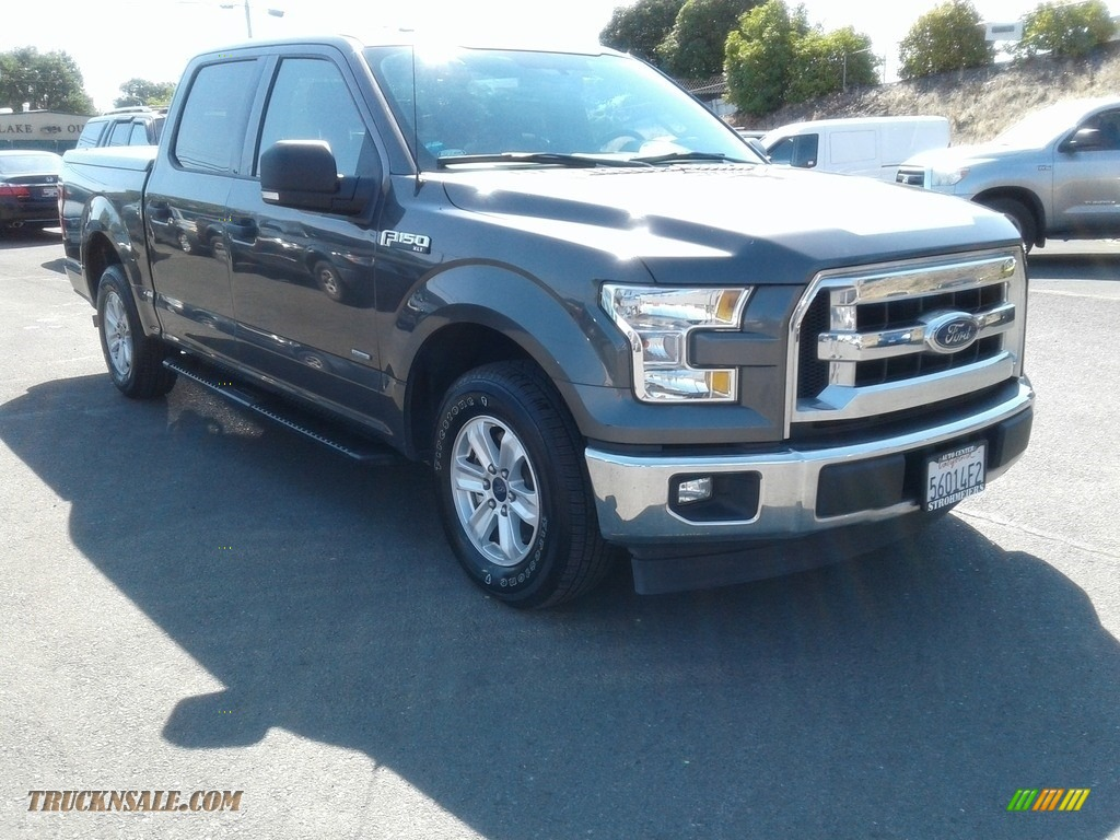 2017 F150 XLT SuperCrew - Magnetic / Earth Gray photo #1