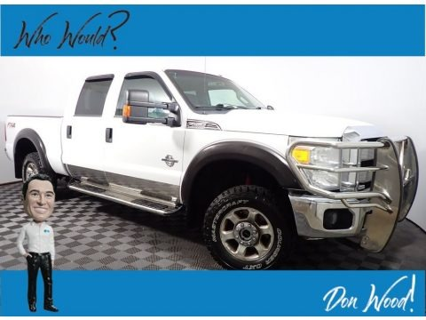 Oxford White 2013 Ford F250 Super Duty XLT Crew Cab 4x4