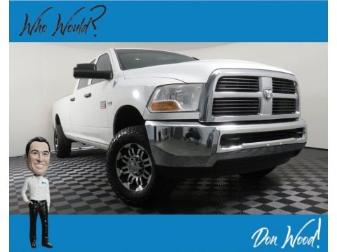 Bright White 2011 Dodge Ram 2500 HD ST Crew Cab 4x4