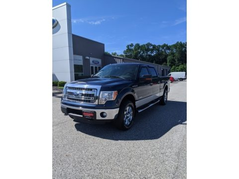 Blue Jeans Metallic 2013 Ford F150 XLT SuperCrew 4x4
