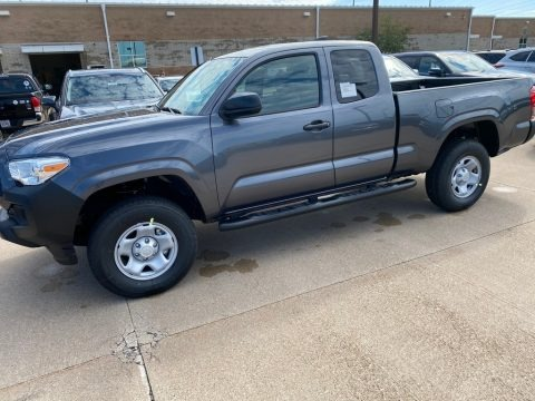 Magnetic Gray Metallic 2020 Toyota Tacoma SR Access Cab 4x4