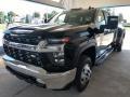 Chevrolet Silverado 3500HD LT Crew Cab 4x4 Black photo #9