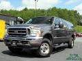 Ford F250 Super Duty Lariat Crew Cab 4x4 Dark Shadow Grey Metallic photo #1