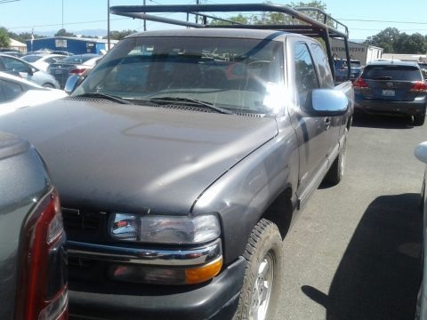 Light Pewter Metallic 1999 Chevrolet Silverado 1500 LT Extended Cab 4x4